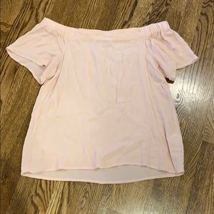 1.State off Shoulder top, XS, blush